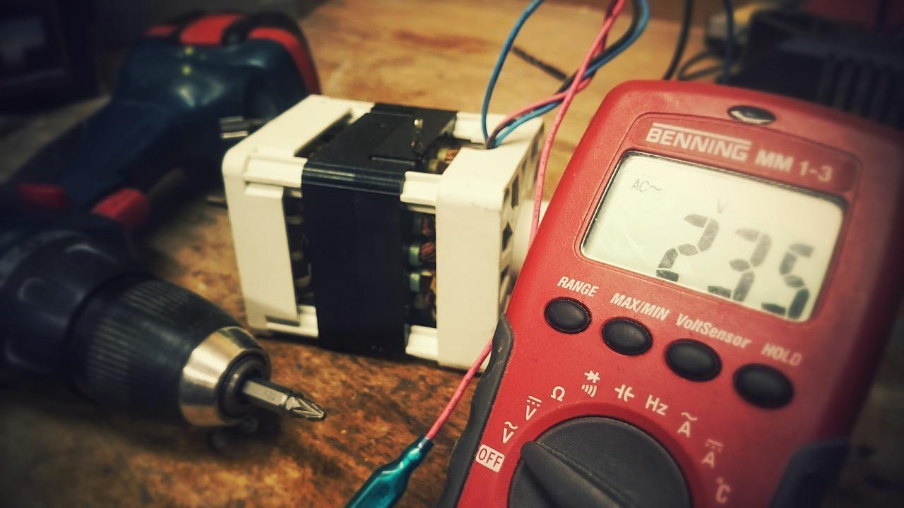 tool electrician meter
