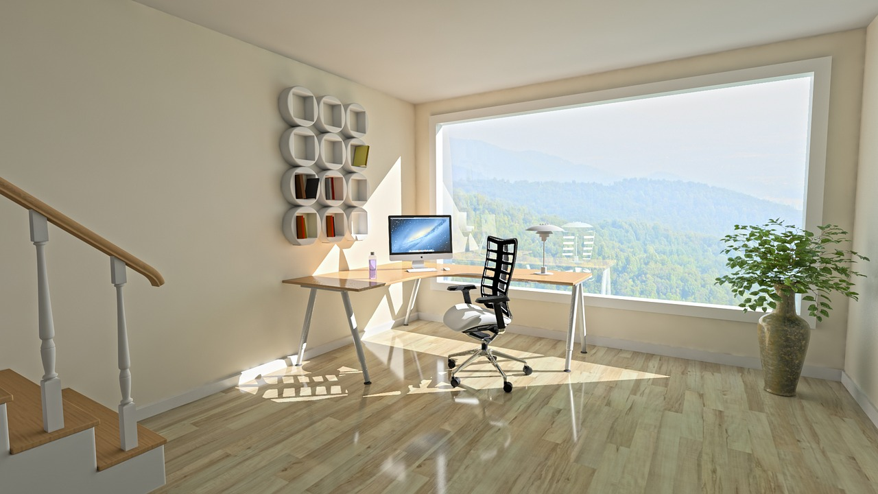 window light 3d interior