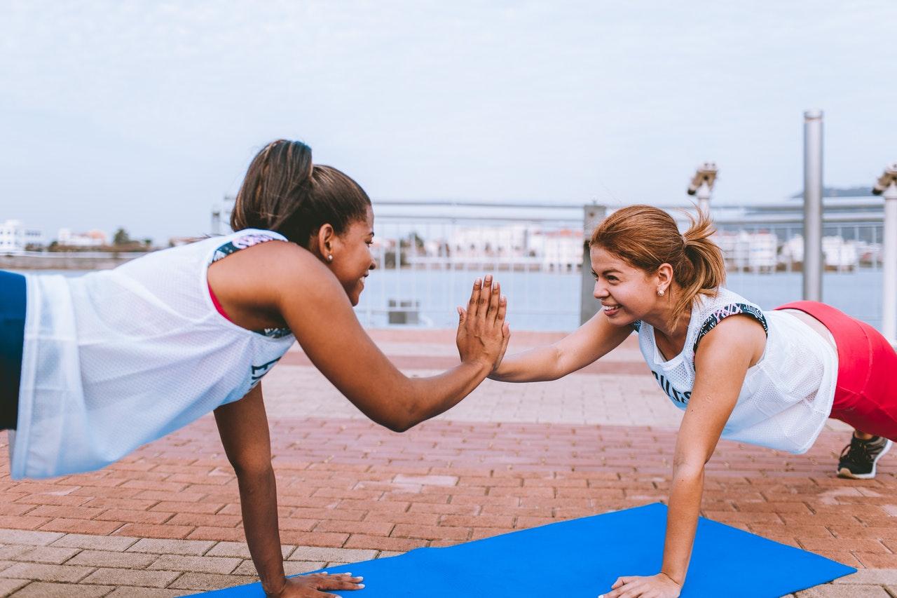 health conscious women niche