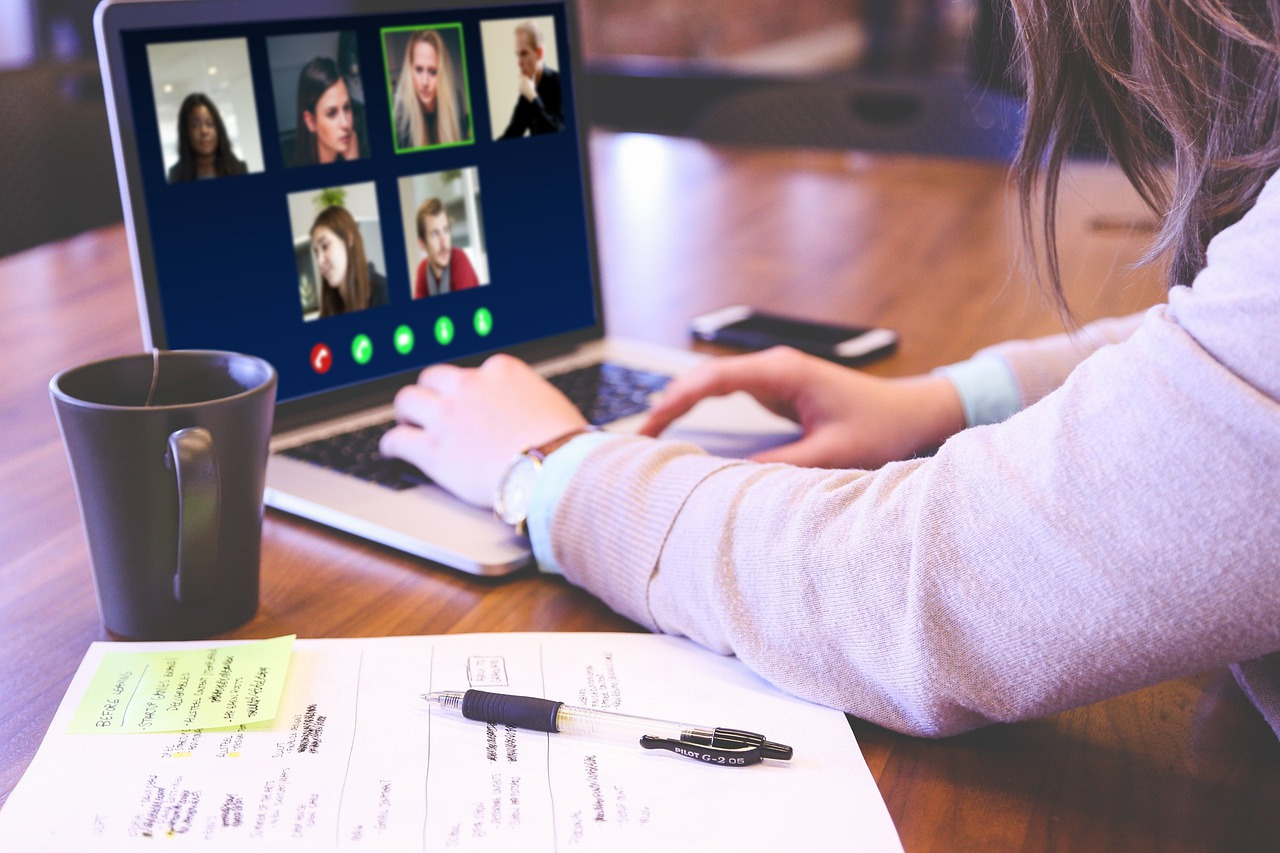 journal notes video call